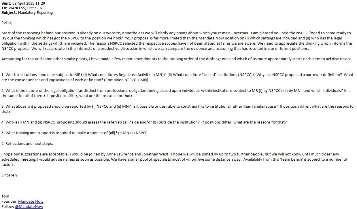 NSPCC Agenda 290615