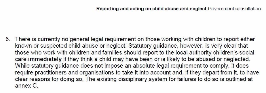 hearsay rule and child abuse In this case, the state's justification for admission of the hearsay evidence must  pass the confrontation  most of the cases concern child victims of sexual abuse.